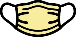 yellow facemask